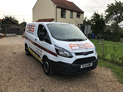 Norfolk Suffolk Building Service Van